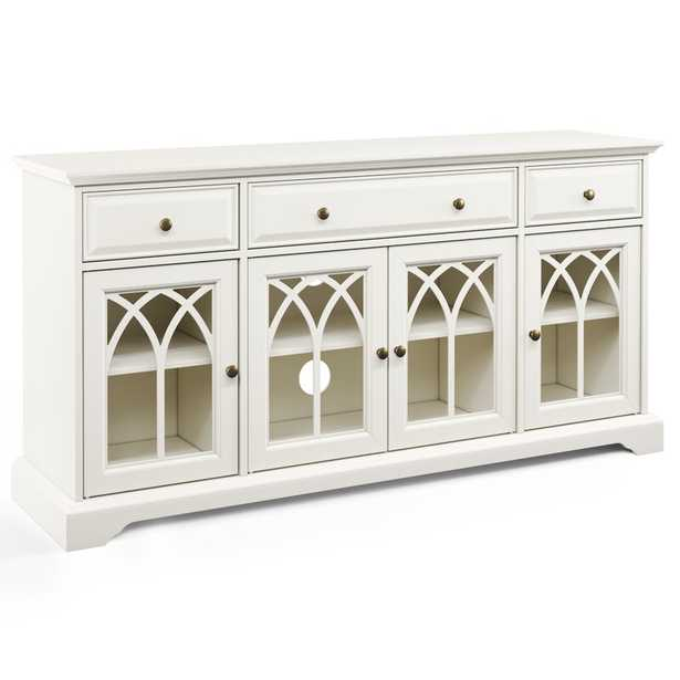"""Vitiello TV Stand for TVs up to 60"""" inches - Wayfair"""