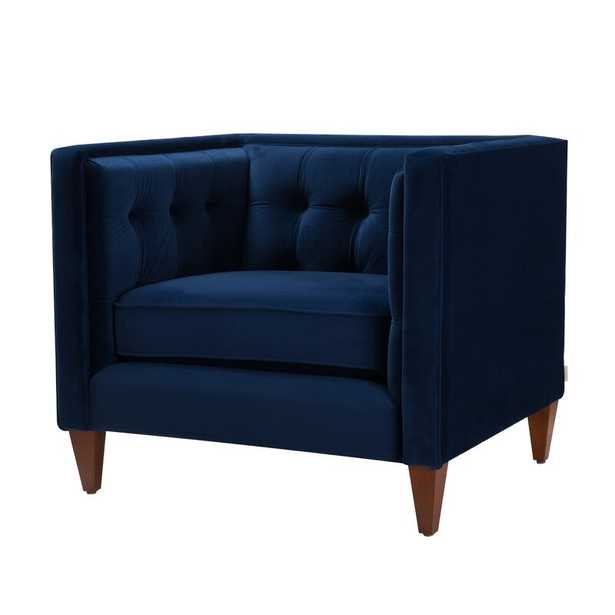 Harcourt Armchair Navy Blue - Wayfair