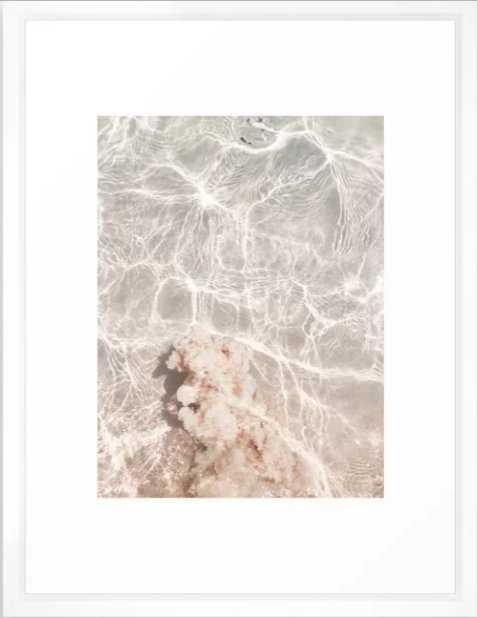 Clearly Sea Framed Art Print - Society6