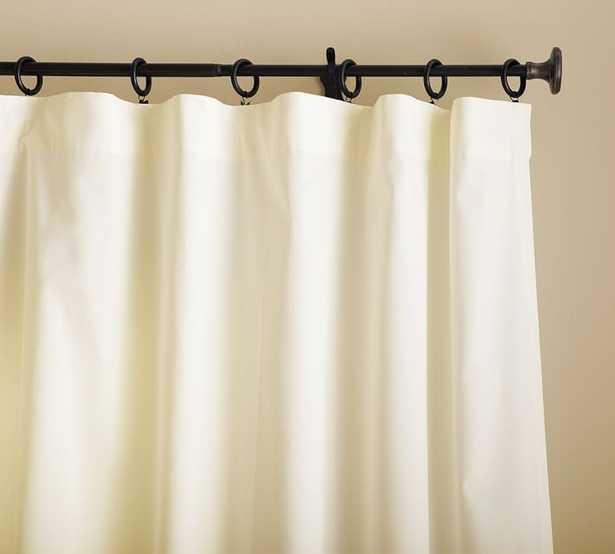 Cameron Cotton Pole-Pocket Curtain - Pottery Barn