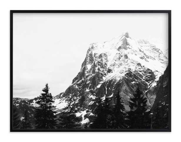 "Alpine Brushes 30 x 40"" - Minted"
