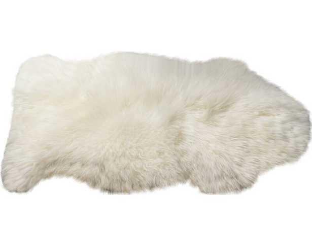 Burgett Handmade Shag Sheepskin Ivory Area Rug - Wayfair