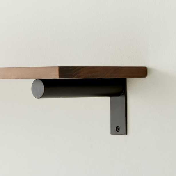 Jordan Bracket, Dark Bronze, Set of 2 - West Elm