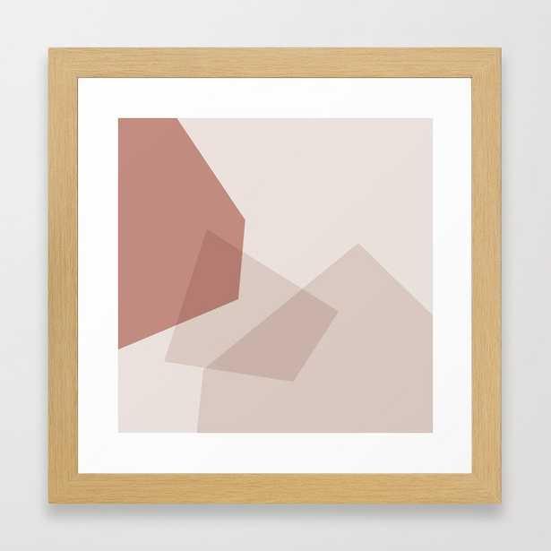 abstract minimal #6 Framed Art Print - Society6