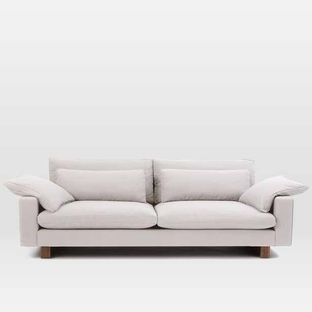 "Harmony Grand 92"" Sofa, Eco Weave, Oyster - West Elm"