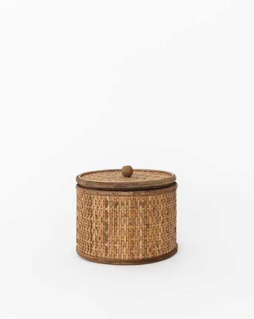 WOVEN CANE TUSCAN BOX - McGee & Co.