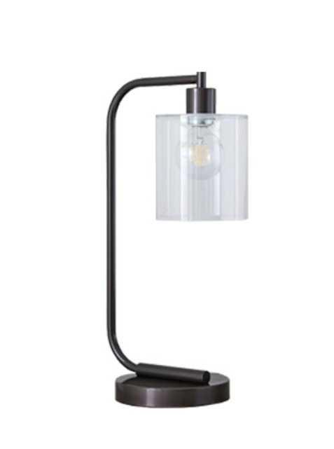 Lens Table Lamp + USB-Individual - West Elm
