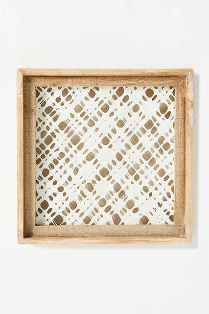 Paper and Wood Wall Art -Diamond - Anthropologie