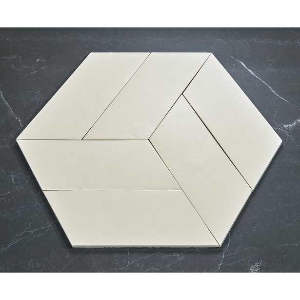 """Cement Series 4"""" x 10"""" Porcelain Subway Tile - Wayfair"""