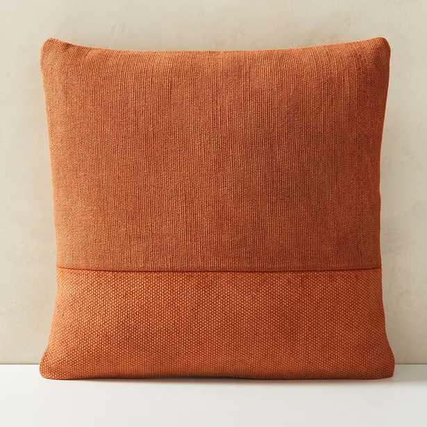 Cotton Canvas Pillow Covers, copper rust - West Elm