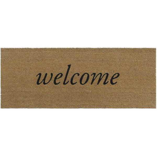 Salsbury Welcome Coir Non-Slip Outdoor Door Mat - Wayfair