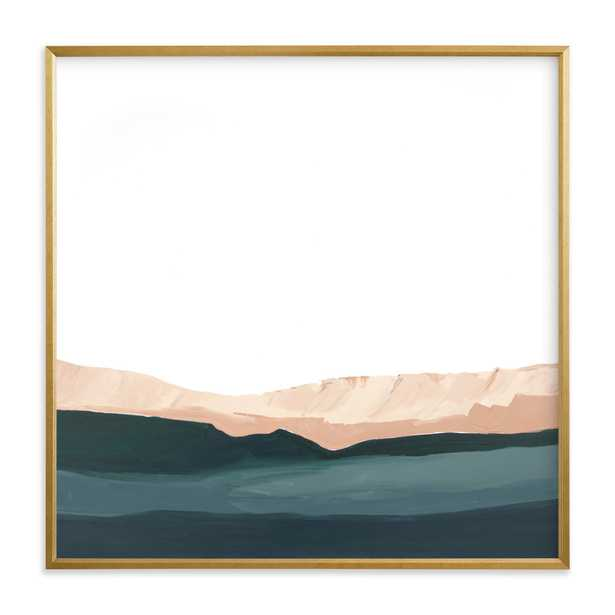 Santa Cruz Seascape #2, 30x30 Framed Art - Minted