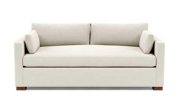 "CHARLY Fabric Sofa - Chalk Heathered Weave - 83""L - Interior Define"