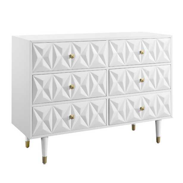 Virginia 6 Drawer Double Dresser - Wayfair