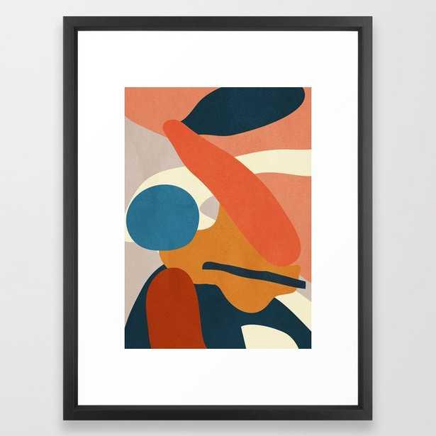 Abstract Art 43 Framed Art Print by ThingDesign - Society6