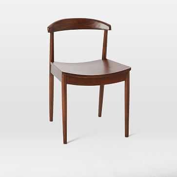 Lena Side Chair, Espresso - West Elm