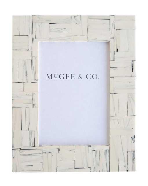 "MOSAIC MARBLE FRAME / 4"" x 6"" - McGee & Co."