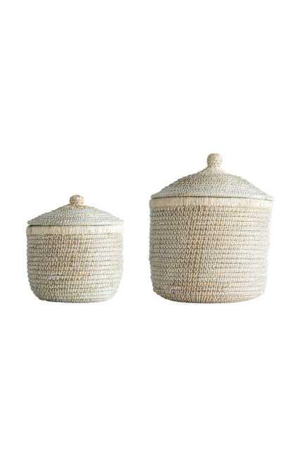 Lyla Baskets, Set of 2 - Cove Goods