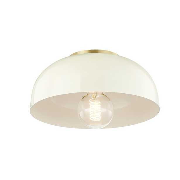 Hammonds 1 - Light Unique/Statement Dome Flush Mount - AllModern