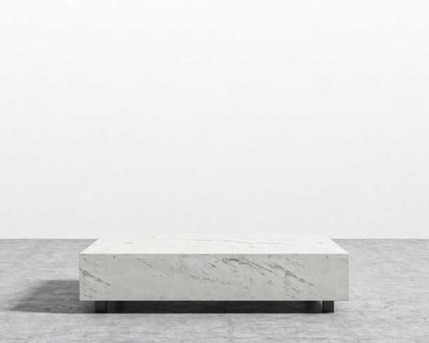 Liza Coffee Table - Marble - Rove Concepts