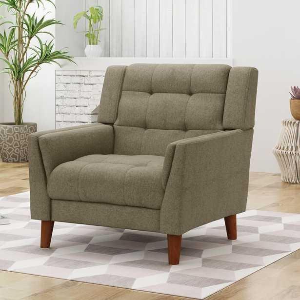 "Ulises 32.28"" Wide Tufted Polyester Armchair - Wayfair"