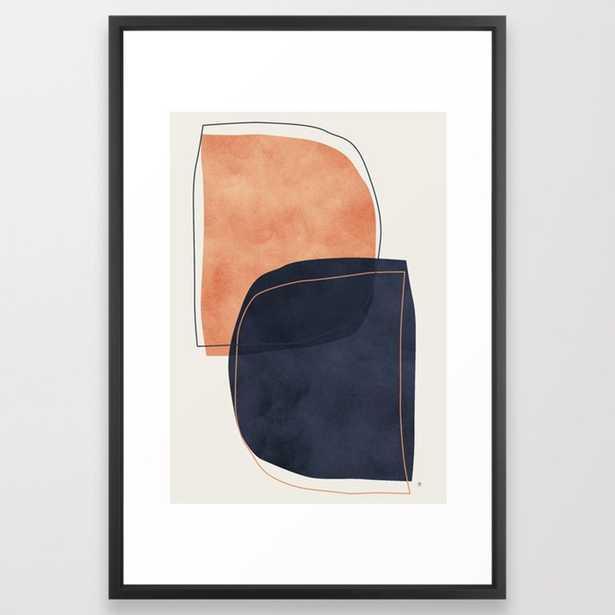 "Nova Framed Art Print by Matadesign, 26"" x 38"" - Society6"