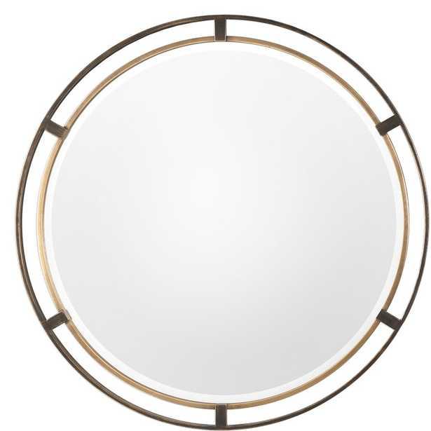 Pia Carrizo Round Accent Mirror - Wayfair