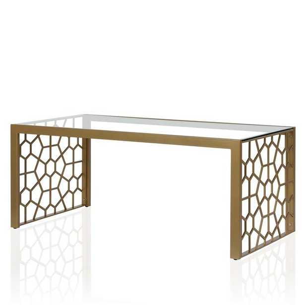 Juliette Glass Top Coffee Table - Wayfair