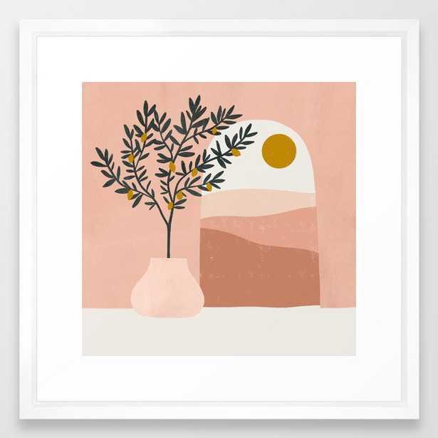 lemon tree Framed Art Print - Society6