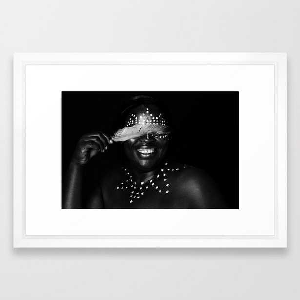 African Portrait   Framed Art Print - Society6