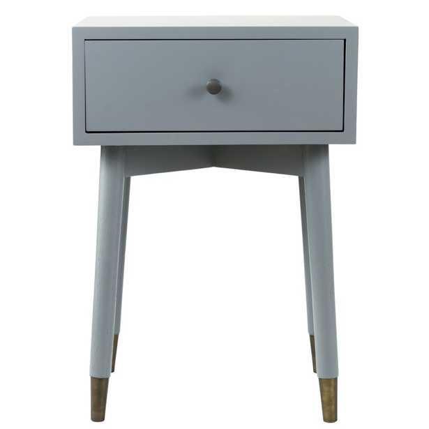 1 - Drawer Acacia Wood Nightstand - Wayfair