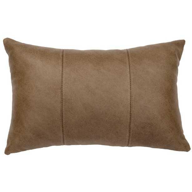 Robstown Leather Lumbar Pillow - Wayfair