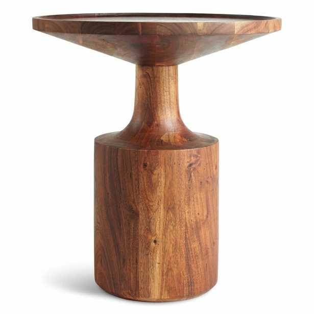 Turn Solid Wood Tray Top End Table - Perigold