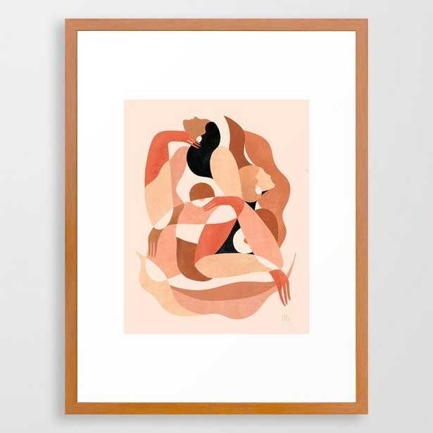 Abstract figures     Framed Art Print - Society6