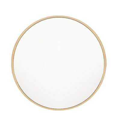 """Needville Modern & Contemporary Accent Mirror / 32'x32"""" - Wayfair"""