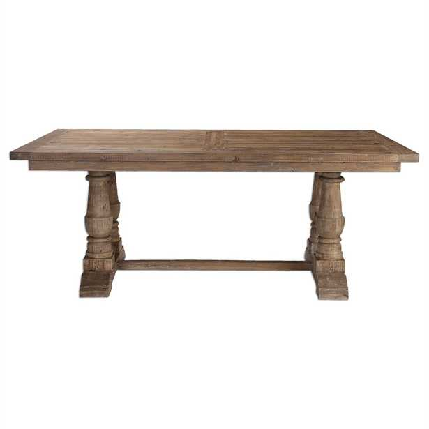 Stratford Salvaged Wood Dining Table - Hudsonhill Foundry