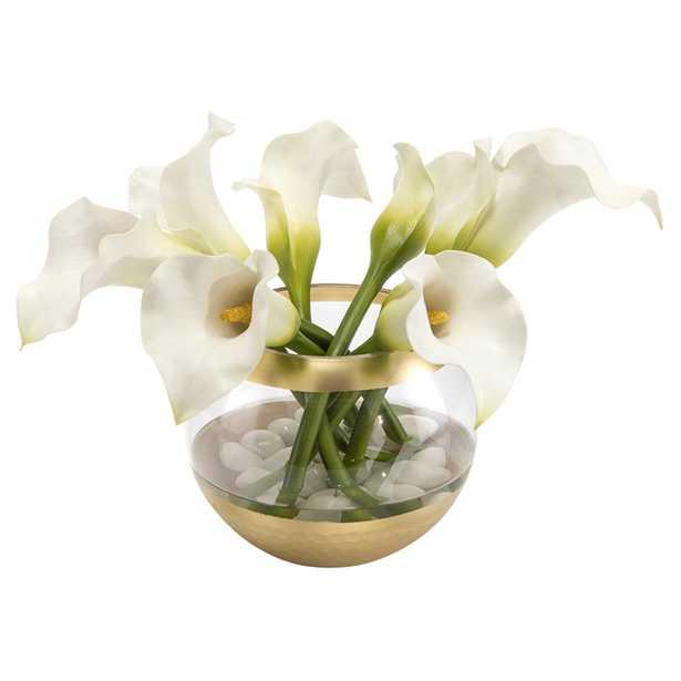 John Richard Modern Classic Golden Callas - Kathy Kuo Home
