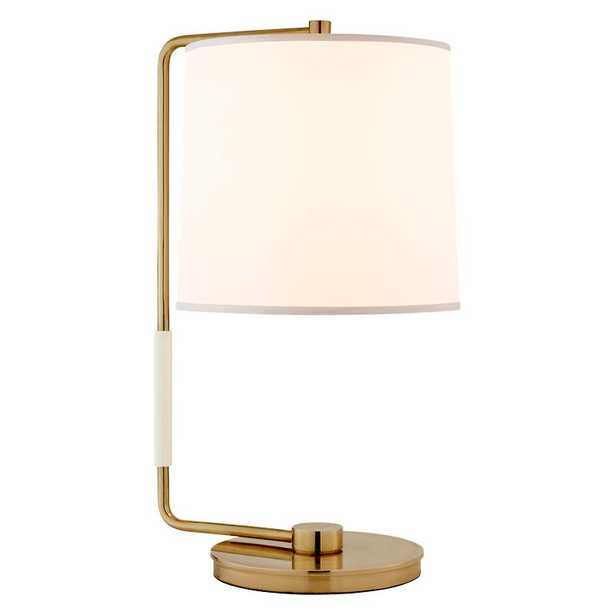SWING TABLE LAMP - SOFT BRASS - McGee & Co.