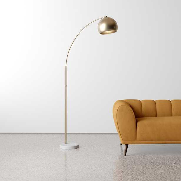"Goff 78"" Arched Floor Lamp - AllModern"