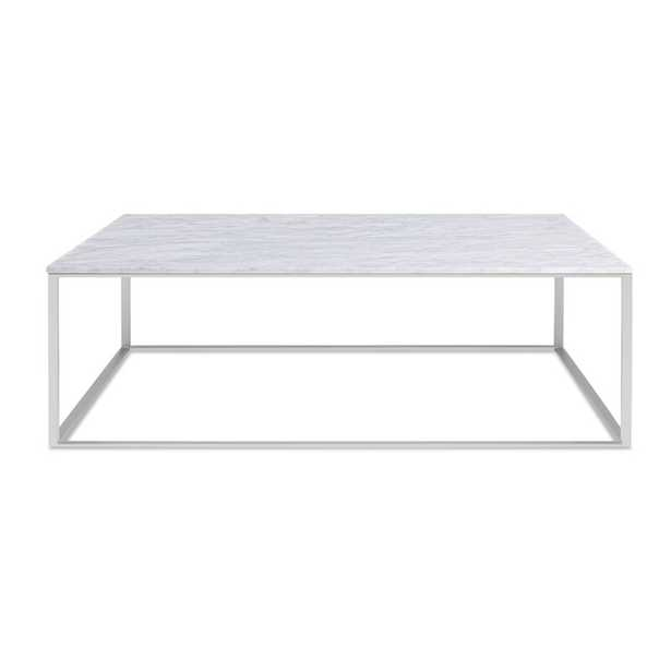 Minimalista Frame Coffee Table / Stainless Steel - Perigold