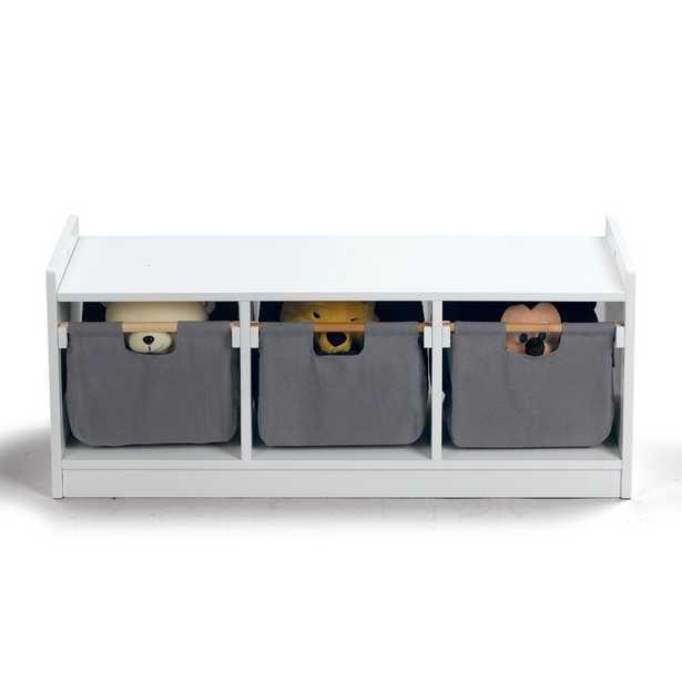 WonkaWoo Deluxe Children Toy Storage Bench - Wayfair