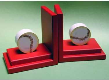 Baseball Book Ends - Wayfair