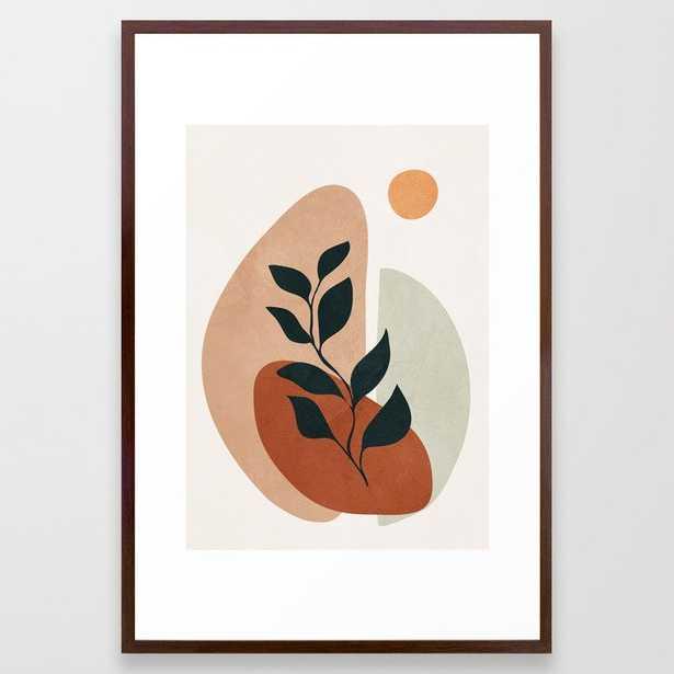 Soft Shapes II Framed Art Print - Society6