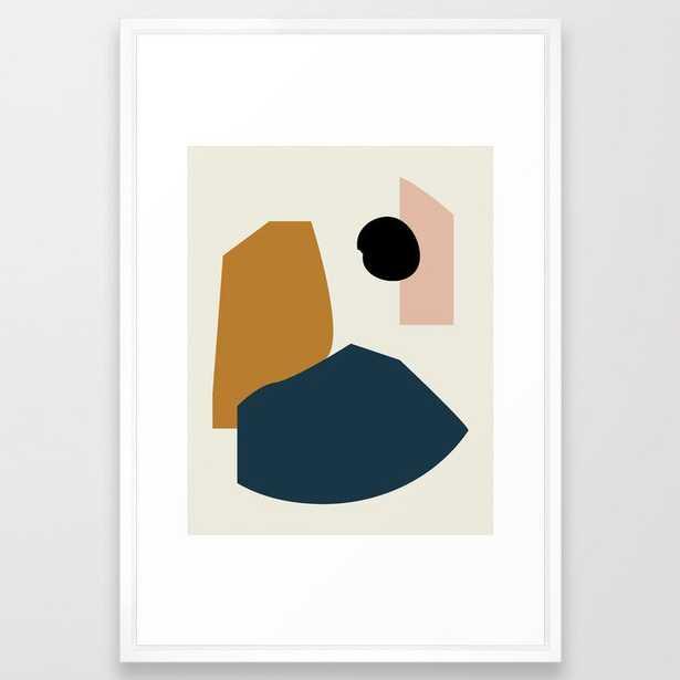 Shape study #1 - Lola Collection Framed Art Print - Society6