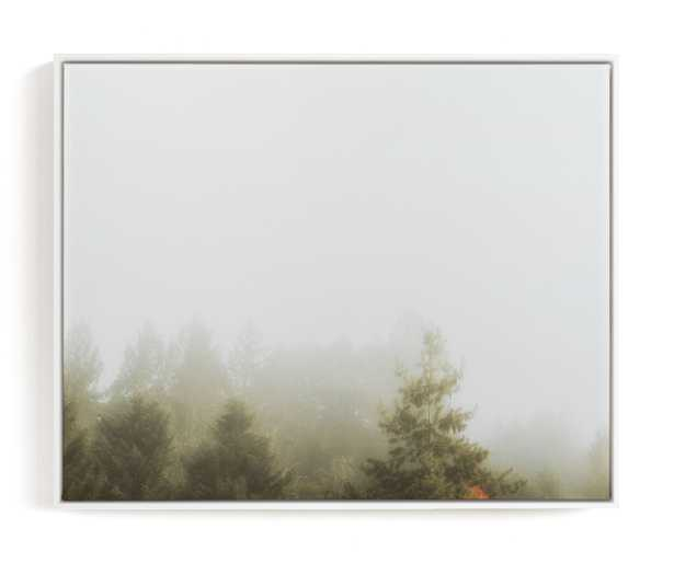 Foggy Autumn Forest Morning Limited Edition Art Print - Minted