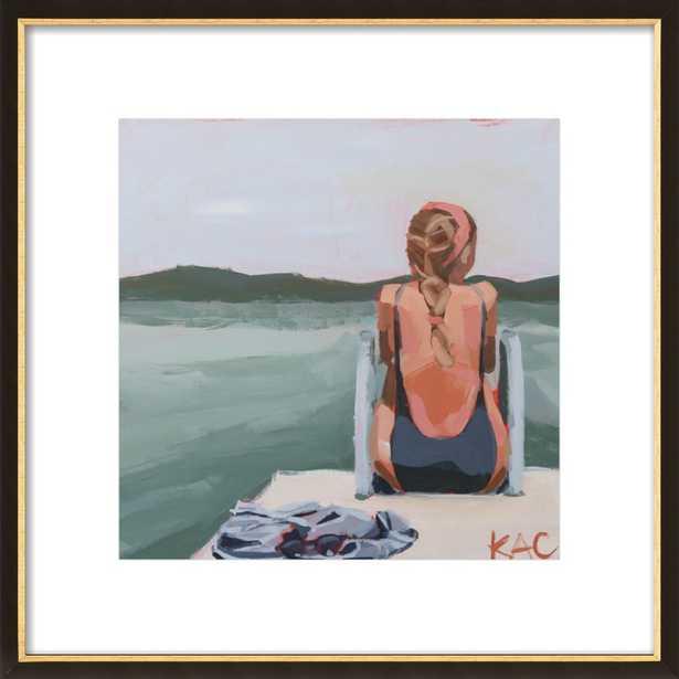 "Self Reflection by Katherine Corden - 16"" x 16"" - Artfully Walls"