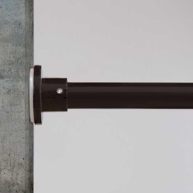 Tension Single Curtain Tension Rod - Wayfair