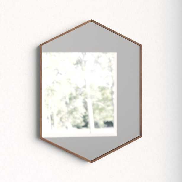 Zaliki Mid Century Hexagon Accent Mirror - AllModern