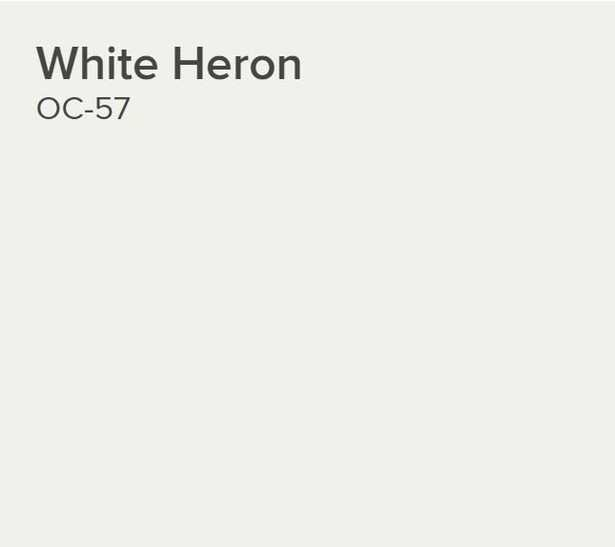 Ben® Waterborne Interior Paint - Eggshell Gallon White Heron OC-57 - Benjamin Moore