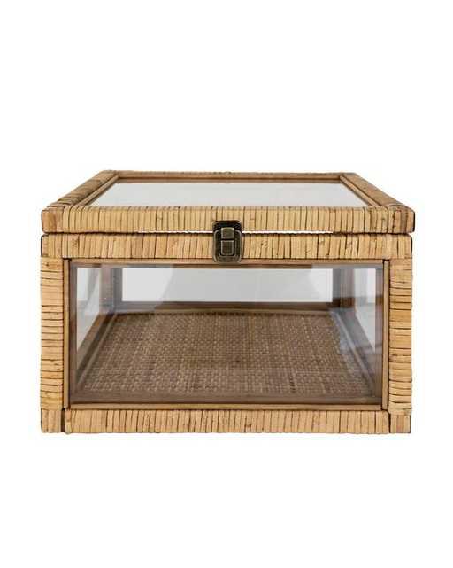 Rattan & Glass Box - McGee & Co.